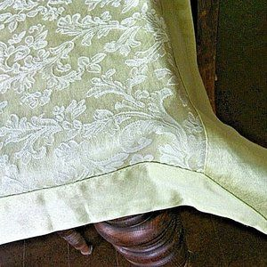 Tablecloth Rectangular Floral Table Cover Handmade